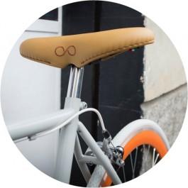 SellOttO- Comfortabel fietszadel- Anatomische man en vrouw- Geen druk genitale zone- Ergonomische en anti-prostaat- Gevulde fietsstoel Made in Italy