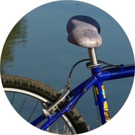 SellOttO- Удобное седло велосипеда - Анатомический мужчина и женщина - Мягкие и без давления гениталии - Эргономичная и антипростата - Италия